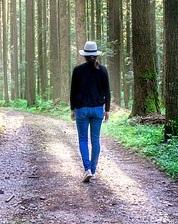 Ett promenadband istället för utomhuspromenader